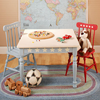 Farmhouse Table and Chair Set